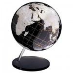 Globe en anglais Onyx 30 cm Non lumineux sans mridien