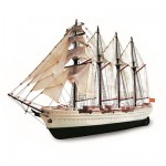 Holzmodell - JS Elcano