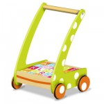 Chariot de Marche 20 cubes en bois : Vert