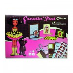 Carnet créatif Choco collection : Creativ'pad