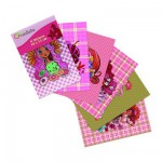 Stickers Pink collection : Pochette de 6 stickers