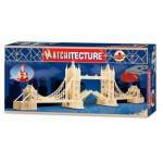 Maquette en allumettes : Matchitecture : Pont de Londres : Tower Bridge