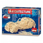 Maquette en allumettes : Matchitecture : Voiture ancienne