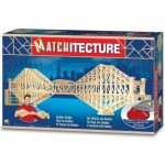 Streichholz-Puzzle 3D - Matchitecture : Qubec-Brcke