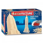 Streichholz-Puzzle 3D - Matchitecture : Empire State Building