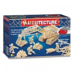 Streichholz-Puzzle 3D - Matchitecture : Schaufelbagger