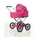 Landau Gull pour poupe : Rose fuchsia