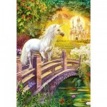 Puzzle 120 pices - Jardin enchant