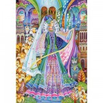 Puzzle 1500 pices - La reine de l't
