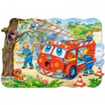 Puzzle 20 pices maxi : Brigade des pompiers
