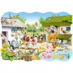 Puzzle 20 pices maxi : La ferme
