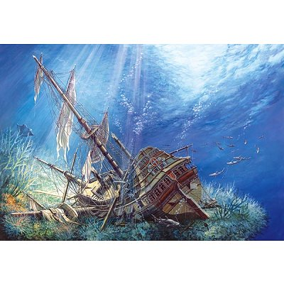 Puzzle 2000 pices - Epave marine