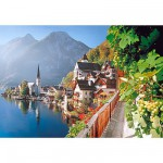 Puzzle 2000 pices - Village Autrichien
