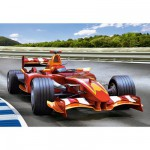 Puzzle 260 pices - Course automobile