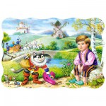 Puzzle 30 pices - Le chat bott