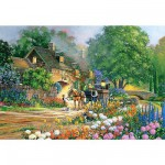 Puzzle 3000 pices - Douglas R. Laird : Rose Lane House