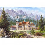 Puzzle 3000 pices - Chteau au pied de la montagne