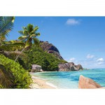 Puzzle 3000 pices - Plage tropicale, Seychelles
