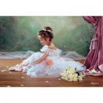 Puzzle 500 pices - Jolie ballerine