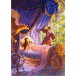 Puzzle 500 pices - La belle au bois dormant et son prince