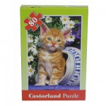 Puzzle 80 pices - Chaton dans le pot