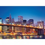 Puzzle 1000 pièces - New York : Le pont de Brooklyn