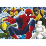 Puzzle 104 pièces maxi : Ultimate Spiderman
