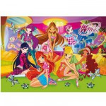 Puzzle 250 pièces - Winx : Photo entre amies