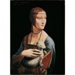 Puzzle 500 pices - Lonard de Vinci : La dame  l'Hermine