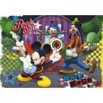 Puzzle 60 pices : Mickey Une star est ne