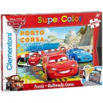 Puzzle 250 pièces - Cars 2 : Porto Corsa Internationale