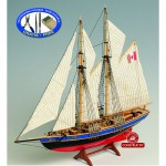 Holzmodell - Bluenose II