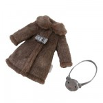 33 cm Doll Outfit : Chic Coat and Purse
