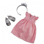 33 cm Doll Outfit : Party Dress and Accessories