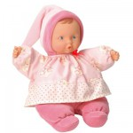 Doudou Babipouce Rose Fleur de Coton