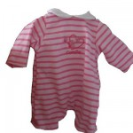Ensemble Bébé Calin / Tidoo : 30 cm : Combinaison rose