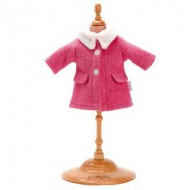 Ensemble poupées 36 cm : Manteau rose
