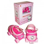 Patins ajustables  Pointure 22/30 : Hello Kitty