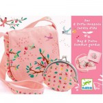 Bag and Coin Purse - Garden