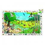 Jigsaw Puzzle - 54 Pieces - Observation Puzzle : A Walk in the Forest