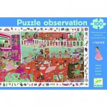 Jigsaw Puzzle - 100 Pieces - with a poster and a game - Dancing