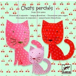 Mobile en papier : Chats perchs