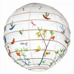 Paper Lantern - Spring Flowers