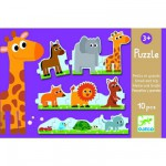 Puzzle 10 pices : Petits et grands