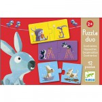 Puzzle 12 x 2 pices - Duo Contraires