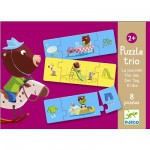 Puzzle 20 pices - Trio la journe