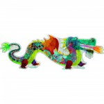 Puzzle 36 pices gant- Lon le dragon