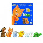 Puzzle 38 pices - 6 puzzles :  Mistigri et ses amis
