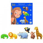 Puzzle 38 pices - 6 puzzles : Ouistiti et ses amis
