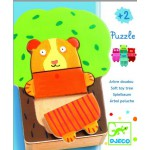 Puzzle apprentissage 15 pices en bois : Arbre doudou